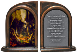 St. Paul by Caravaggio Bookends