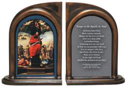 St. Paul by Beccafumi Bookends