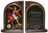 St. Michael Army Bookends