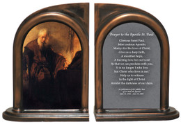 St. Paul at His Desk Bookends