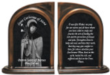 St. Catherine of Siena Nurse's Prayer Bookends