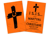 Orange Cross Project Martyr Solidarity Card