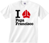 I Love Papa Francisco Children's T-shirt