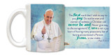 Pope Francis Thumbs Up Mug