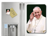 Pope Francis Waving Magnet