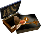Pope Francis with Monstrance Keepsake Box