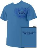 Best Mom T-shirt Blue