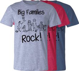 Big Families Rock T-Shirt