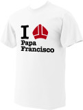 I Love Papa Francisco T-shirt