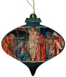 Adoration of the Magi Tapestry by Edward Burne-Jones Wood Ornament