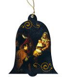 Adoration of the Magi by Valesquez Wood Ornament