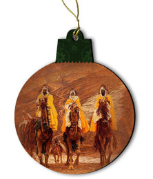 Journey of the Magi by James Tissot Wood Ornament