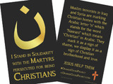 Nazarene Solidarity Prayer Card