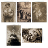 Sepia Images Christmas Card Set (25 Cards)