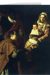 Adoration of the Magi by Velasquez Christmas Cards (25 Cards)