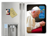Pope Francis in Prayer Commemorative Apostolic Journey Magnet