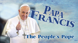 Papa Francis: The People's Pope  Bumper Sticker