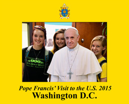 Pope Francis Washington D.C. Visit 5x7 Photo Matte