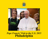 Pope Francis Philadelphia Visit 5x7 Photo Matte
