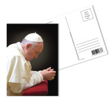 Pope Francis Praying Postcards