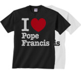 I Heart Pope Francis Children's T-shirt
