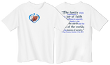 Love Is Our Mission Family Quote Children's T-shirt Color