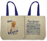 Papa Francis - The People's Pope Totebag