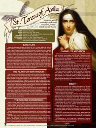 Saint Teresa of Avila Explained Poster