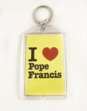 I Love Pope Francis Apostolic Journey Key Chain
