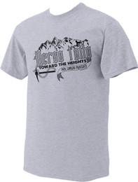 Bl. Giorgio Frassati Quote Grey T-Shirt: Verso L'Alto