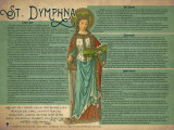 St. Dymphna Explained Poster