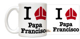 Spanish I Love Pope Francis Miter Overstock Bulk Mugs