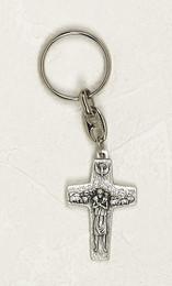 "Pope Francis Shepherd's Cross 2"" Keychain"