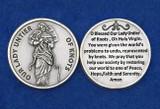 Mary Undoer of Knots Pocket Medallion with prayer - Made in Italy