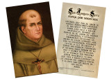 Junipero Serra Spanish Holy Cards