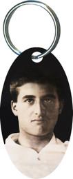 Pier Giorgio Oval Keychain