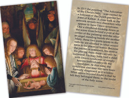 Down Syndrome Christmas Angels Holy Card