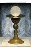 Chalice and Host First Communion Greeting Card