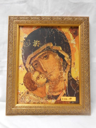 Our Lady of Vladimir 8x10 Gold Framed Print