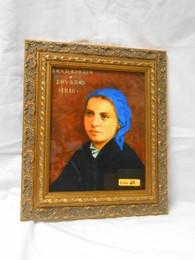 St. Bernadette 8x10 Framed Print