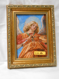 Angel and Violin 5x7 Framed Print