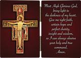 San Damiano Crucifix with Prayer Diptych