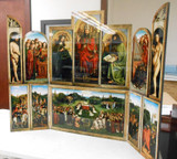 Altarpiece of Ghent Church-Sized Triptcyh Reproduction