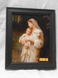 L'Innocence (Close-Up) 8x9 Black Framed Print