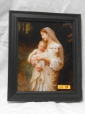 L'Innocence (Close-Up) 8x9 Black Framed Print