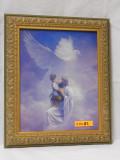 Christ and Child 8x10 Ornate Gold Framed Print