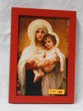 Madonna of the Roses 6x9 Bright Framed Print
