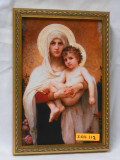 Madonna of the Roses 6x9 Twist Framed Print