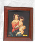 Virgin with Child by Murillo  8x10 Framed Print