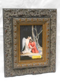 Agony in the Garden 5x7 Silver and Gold Framed Print
